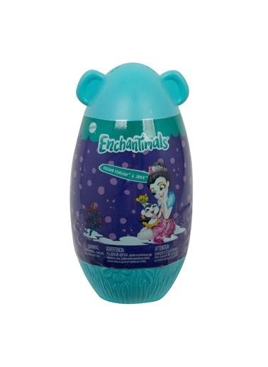 Enchantimals Enchantimals Renkli Yumurtadan Çıkan Bebekler Oyuncak Mavi